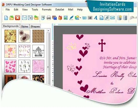 free wedding card software free wedding card software by invitation cards