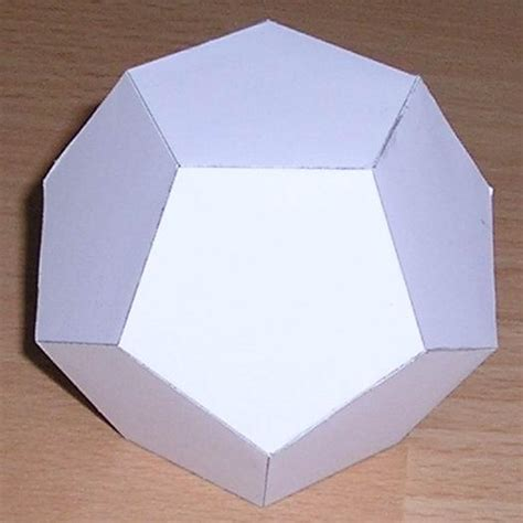 How To Make A Dodecahedron Out Of Paper - best photos of dodecahedron model template paper