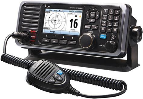 boat us radio check news release icom america