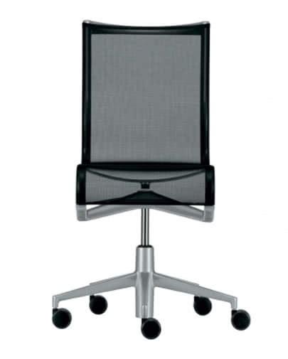 sedie noleggio noleggio sedia rollingframe nera per ufficio punto noleggio