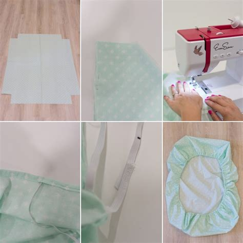 Mini Crib Sheet Tutorial How To Sew Mini Crib Sheets 187 Lovely Indeed
