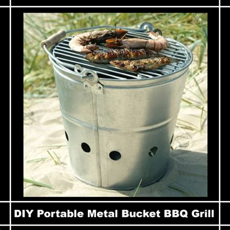 Your Own Portable Barbecue by Diy Portable Barbecue Grill Diy Do It Your Self
