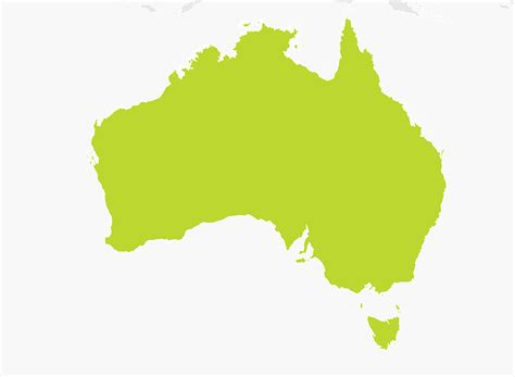 astrelia map map of australia tomtom