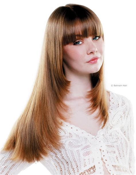 hair cut feathered ends feathered hairstyles for long hair