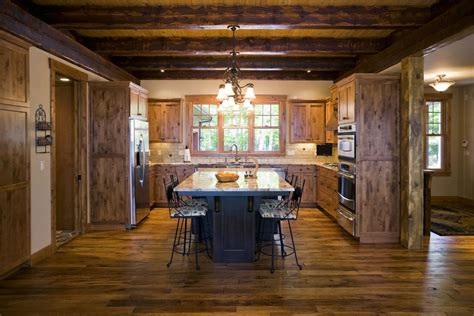 wood ceiling kitchen country or rustic kitchen design ideas