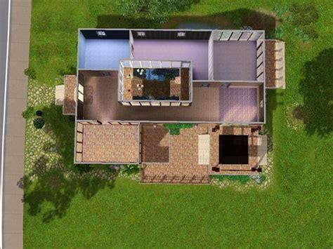 Plan Maison Avec Patio Intérieur by Plan Maison Avec Jardin Interieur