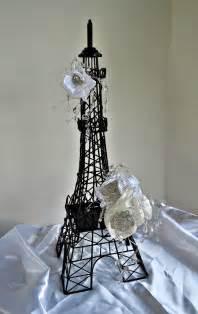 eiffel tower table decorations items similar to parisian eiffel tower decoration centerpiece parisian centerpiece wedding