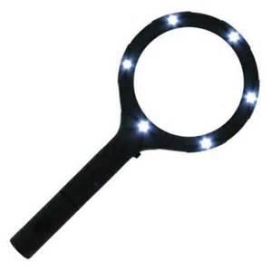 light up magnifying glass countertop display walmart