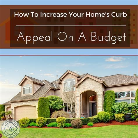 how to increase your home s curb appeal on a budget