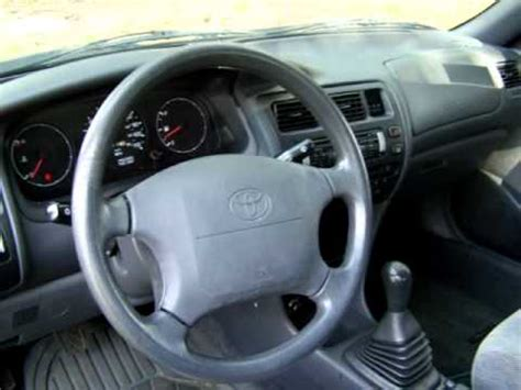 1996 toyota corolla dx youtube