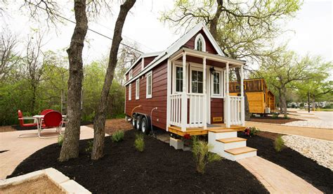 tiny house real estate casa rosa at austin s original tiny home hotel
