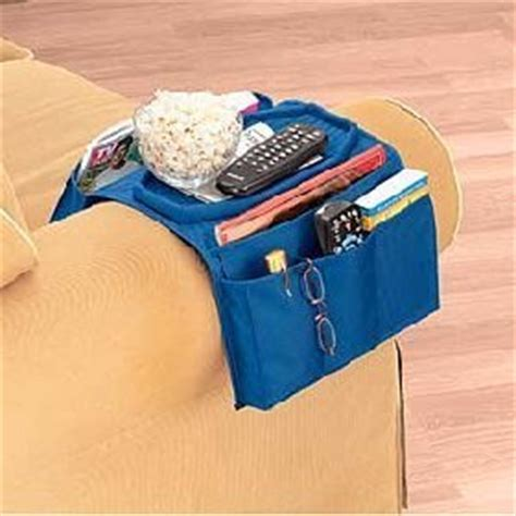 sofa arm organizer com sofa over arm caddy organizer home kitchen