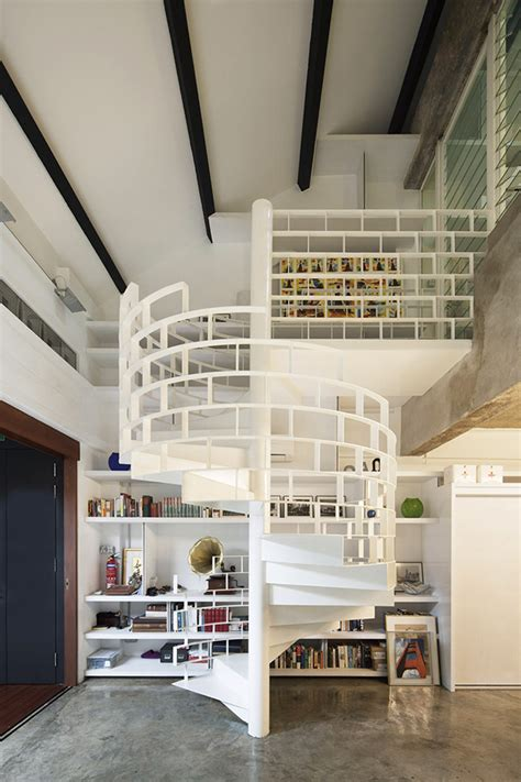 back to modern industrial loft in singapore gets