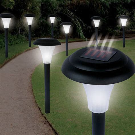 Patio Lights Walmart Cordless Bright Solar Accent Lights Set Of 8 Walmart