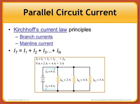 resistors in parallel kirchhoff s current chapter 7 parallel circuits chapter 7 parallel circuits ppt
