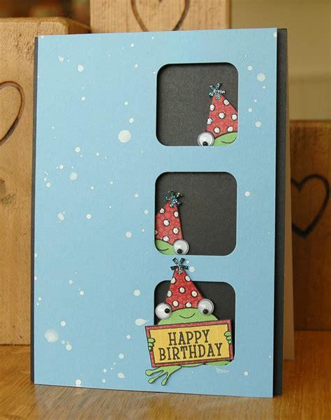 Handmade Childrens Birthday Cards - handmade birthday card with wiggle folksy