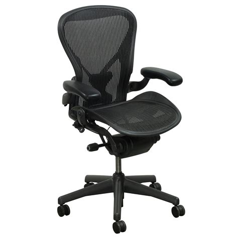 herman miller aeron posturefit desk chair herman miller aeron posturefit used size b task chair