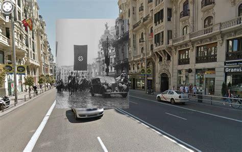 imagenes antiguas street view madrid hace no tanto ventanas a la guerra en google