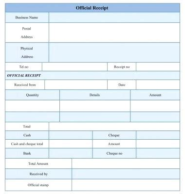 official receipt template ai sle official receipt yagoa me