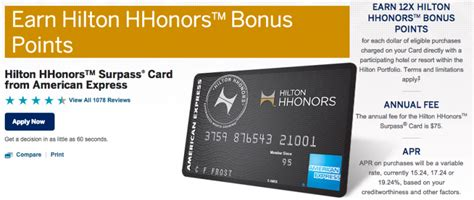 hilton hhonors card from american express earn hotel increased 80 000 points sign up bonus on american express