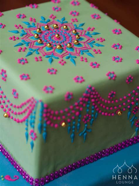 Mehndi cakes by Henna Lounge ? Henna Lounge