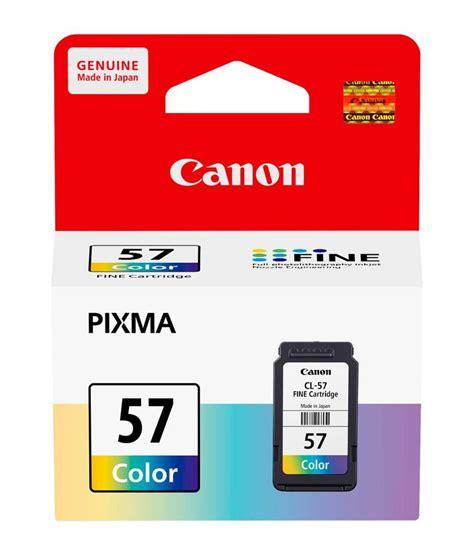 Tinta Printer Canon E400 canon cl 57 tricolour ink cartridge for canon pixma e460