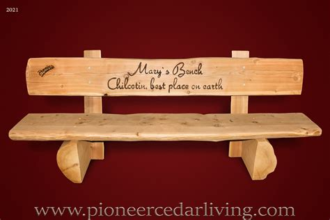 red cedar log bench pinteres cedar log bench plans pictures to pin on pinterest pinsdaddy