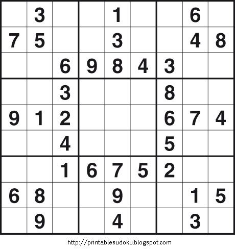 printable sudoku quizzes printable easy sudoku on printable sudoku maths