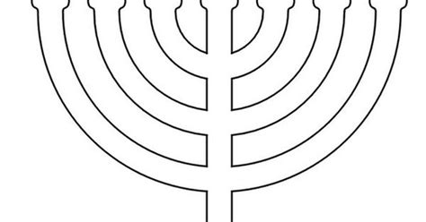 menorah template hanukkah coloring pages menorahs this is not the