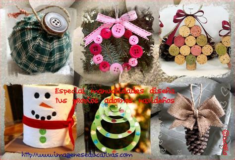 imagenes educativas adornos navideños especial manualidades dise 241 a tus propios adornos navide 241 os