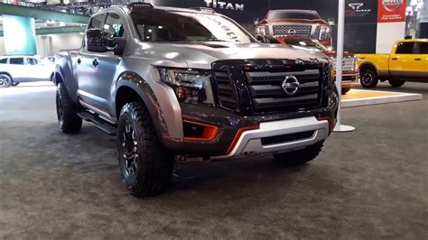 nissan navara titan 2017 nissan titan warrior concept exterior walkaround 2016 new