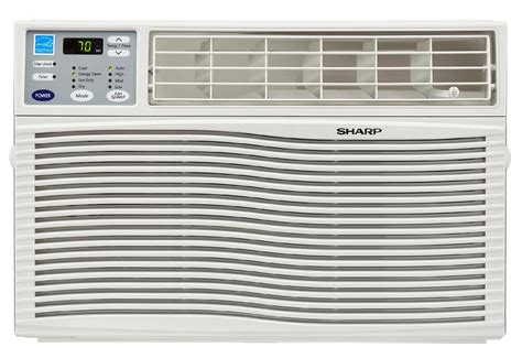 Sharp Comfort Touch Air Conditioner by Sharp Afq100vx 10 000 Btu 110 Volt Window Mounted Air