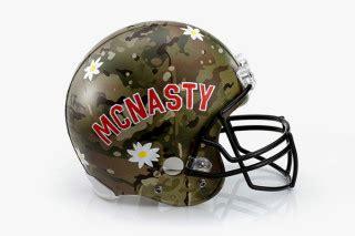 menswear designers reimagine the football helmet for super