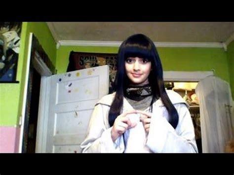 tutorial naruto cosplay hinata hyuga makeup tutorial transformation shippuden