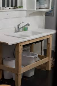 temporary kitchen sink renovating 404