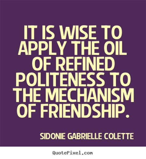 sidonie gabrielle colette poster quote it is wise to