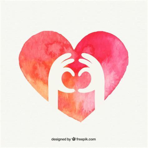 imagenes de corazones hechos con las manos manos que forman un coraz 243 n descargar vectores gratis