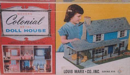 pressed metal dollhouses