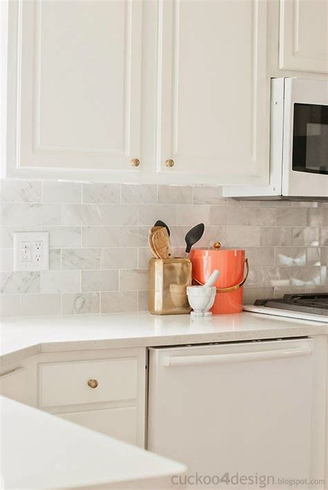 carrara marble subway tile kitchen backsplash new backsplash with the tile shop cuckoo 4 design