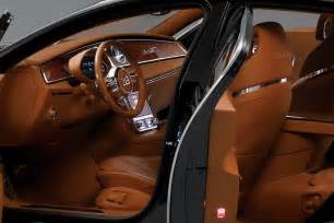 Interior Of A Bugatti Bugatti 16c Galibier Concept In Black Photo Gallery Autoblog