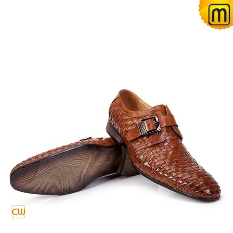 buckle mens shoes mens designer buckle dress shoes brown cw761188