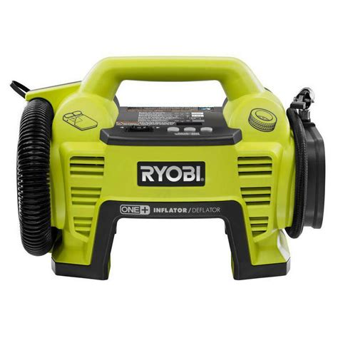 ryobi 18v cordless portable air compressor inflator deflator car bike tire ebay