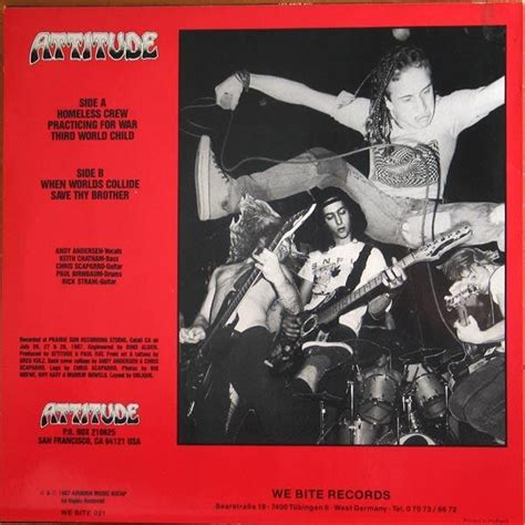 kein schlaf fast and loud condemned attitude 1986 1989 demos