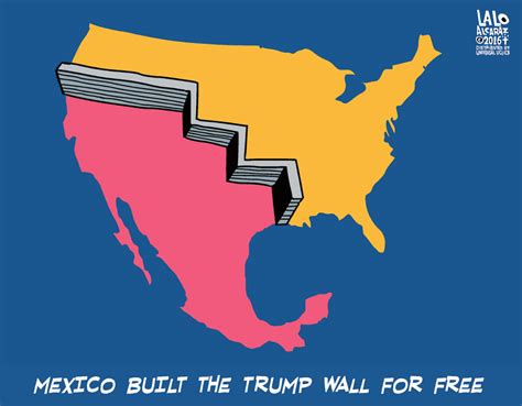 build a wall ok if you really want mexico to build a