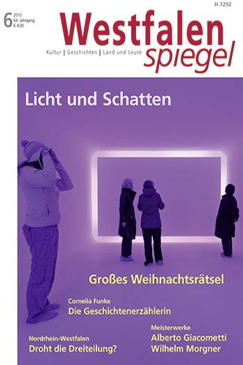 Licht Und Len by 2015 Archives Westfalenspiegel