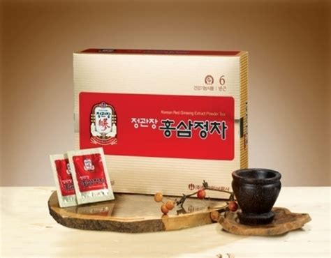 Ginseng Merah Korea Sachet korean ginseng extract tea in gangnam gu seoul korea ginseng corporation