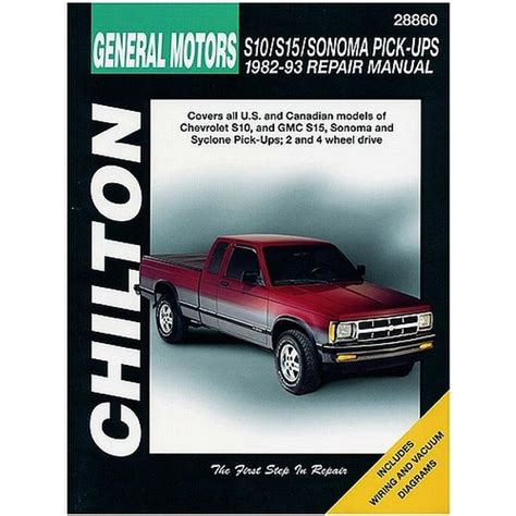 auto repair manual online 1998 gmc sonoma parking system service manual pdf 1995 gmc sonoma club coupe electrical troubleshooting manual purchase