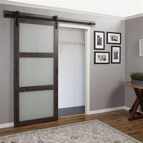 interior barn doors with glass erias home designs continental frosted glass 1 panel