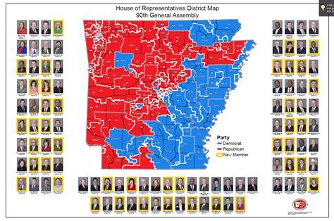 house district map arkansas house district map arkansas map
