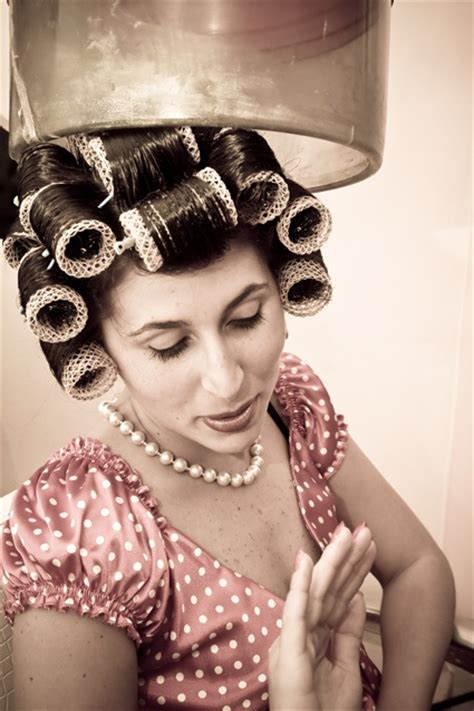 women in hair rollers 155 best images about women in curlers in rollers in